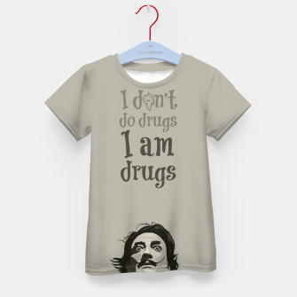 Miniaturka I am drugs Kid's t-shirt, Live Heroes