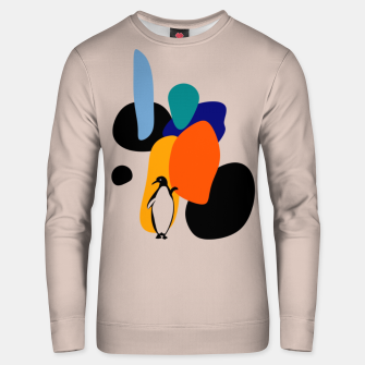 penguin and stones Unisex sweater thumbnail image