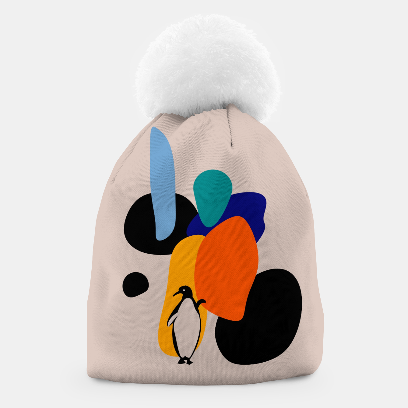 Image of penguin and stones Beanie - Live Heroes