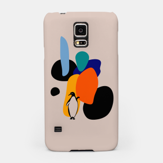 penguin and stones Samsung Case thumbnail image