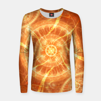 Thumbnail image of Abstract Sun Women sweater, Live Heroes