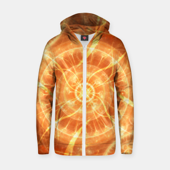Thumbnail image of Abstract Sun Zip up hoodie, Live Heroes