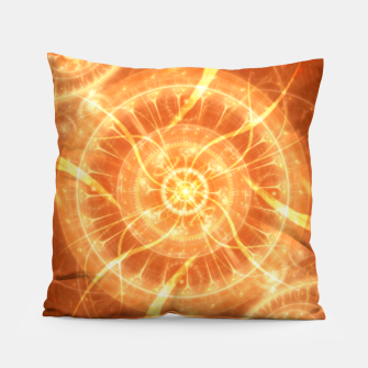 Thumbnail image of Abstract Sun Pillow, Live Heroes