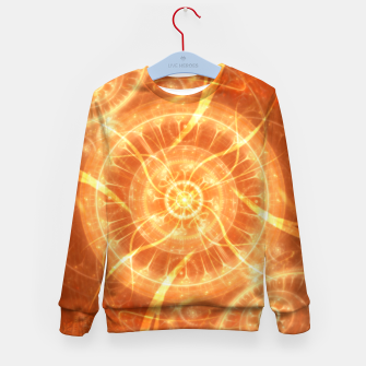 Thumbnail image of Abstract Sun Kid's sweater, Live Heroes
