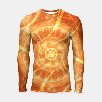 Thumbnail image of Abstract Sun Longsleeve rashguard , Live Heroes