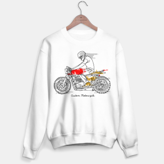 Thumbnail image of Custom Motorcycle Sweater regular, Live Heroes