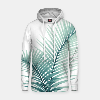 Miniatur Intertwined - Palm Leaves in Love #3 #tropical #decor #art  Kapuzenpullover, Live Heroes