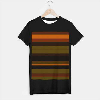 Thumbnail image of minimalistic horizontal stripes pattern eei T-shirt regular, Live Heroes