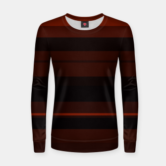 Thumbnail image of minimalistic horizontal stripes pattern gmbri Women sweater, Live Heroes