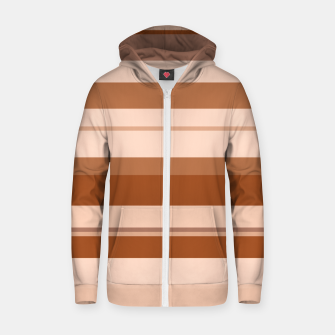 Thumbnail image of minimalistic horizontal stripes pattern gmbwi Zip up hoodie, Live Heroes