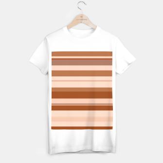 Thumbnail image of minimalistic horizontal stripes pattern gmbwi T-shirt regular, Live Heroes