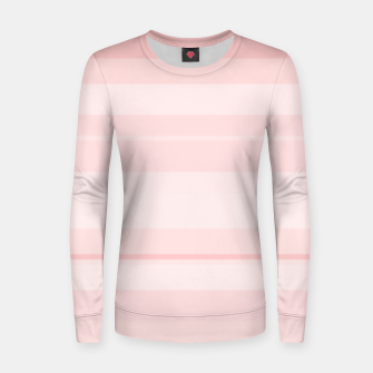 Thumbnail image of minimalistic horizontal stripes pattern gmpr Women sweater, Live Heroes