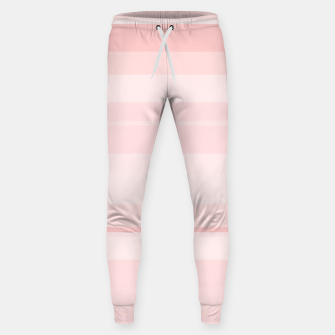 Thumbnail image of minimalistic horizontal stripes pattern gmpr Sweatpants, Live Heroes