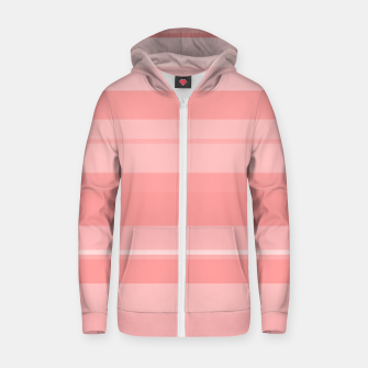 Thumbnail image of minimalistic horizontal stripes pattern gmpri Zip up hoodie, Live Heroes