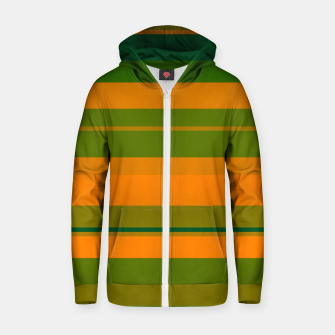 Thumbnail image of minimalistic horizontal stripes pattern gmgo Zip up hoodie, Live Heroes
