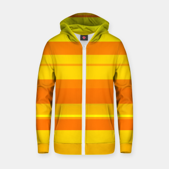 Thumbnail image of minimalistic horizontal stripes pattern gmyo Zip up hoodie, Live Heroes