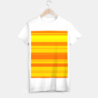 Thumbnail image of minimalistic horizontal stripes pattern gmyo T-shirt regular, Live Heroes