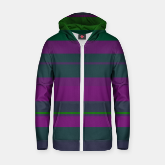 Thumbnail image of minimalistic horizontal stripes pattern gmgoi Zip up hoodie, Live Heroes