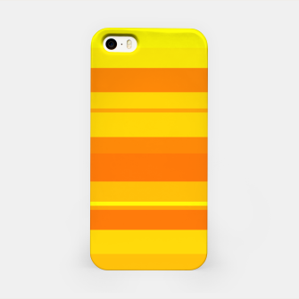 Miniatur minimalistic horizontal stripes pattern gmyo iPhone Case, Live Heroes