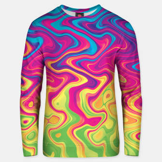 Miniatur Melted 14 Unisex sweater, Live Heroes