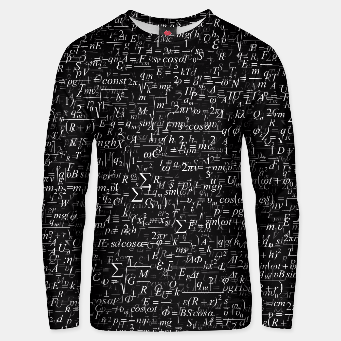 Image of Physics Formulas Unisex sweater - Live Heroes