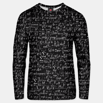 Thumbnail image of Physics Formulas Unisex sweater, Live Heroes