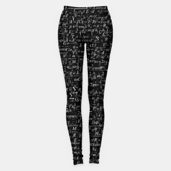 Thumbnail image of Physics Formulas Leggings, Live Heroes