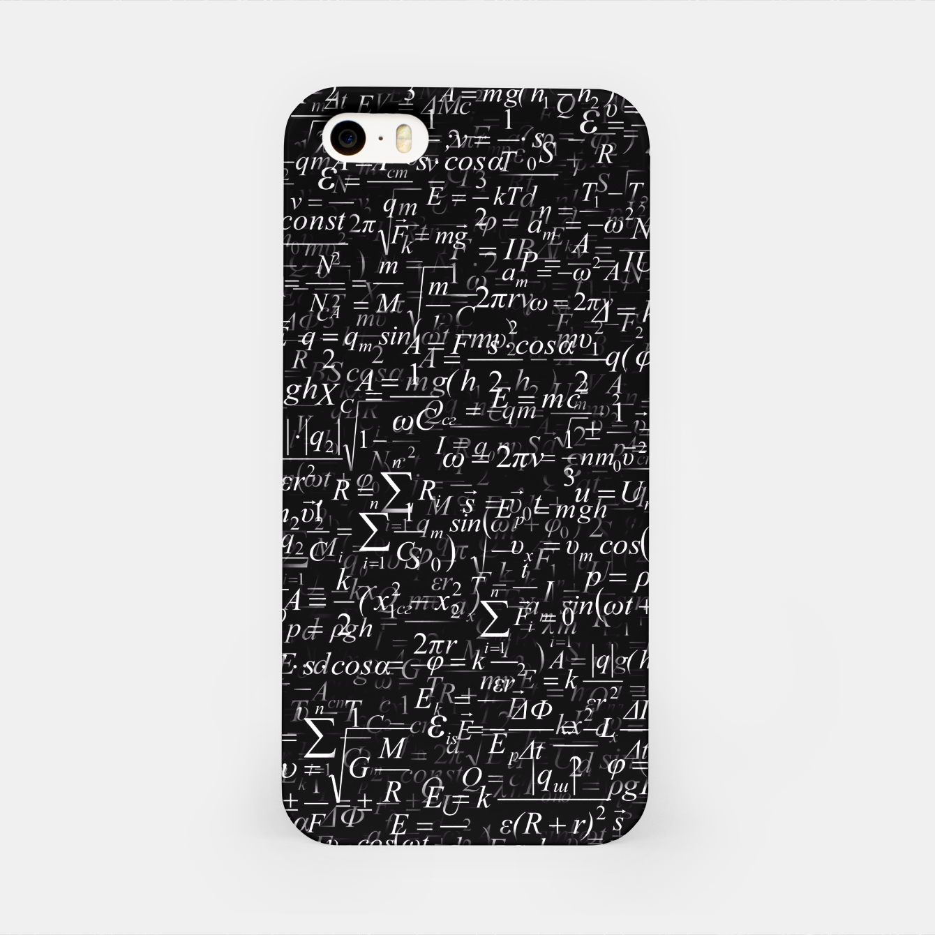 Image of Physics Formulas iPhone Case - Live Heroes