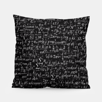 Thumbnail image of Physics Formulas Pillow, Live Heroes