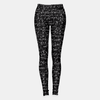 Miniatur Physics Formulas Leggings, Live Heroes