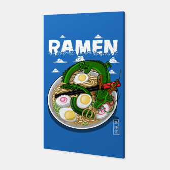 Ramen Dragon Canvas Bild der Miniatur