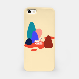 Thumbnail image of Swan in the lake iPhone Case, Live Heroes