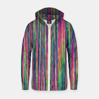 Miniatur Abstract 6 Zip up hoodie, Live Heroes