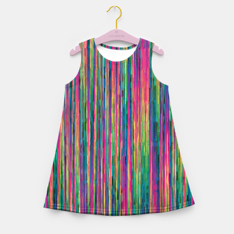 Miniatur Abstract 6 Girl's summer dress, Live Heroes