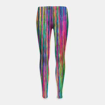 Miniatur Abstract 6 Girl's leggings, Live Heroes