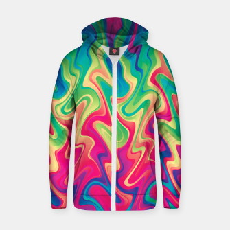 Thumbnail image of Rainbow 21 Zip up hoodie, Live Heroes
