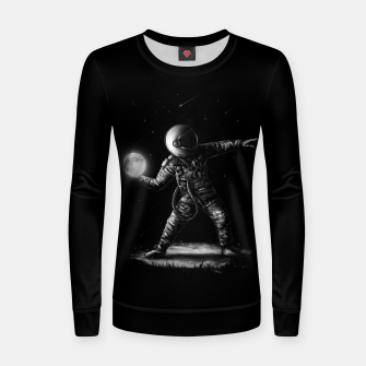 Thumbnail image of Moonlotov Women sweater, Live Heroes