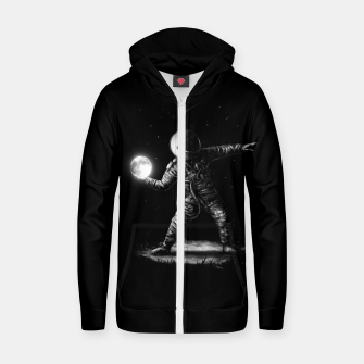 Thumbnail image of Moonlotov Zip up hoodie, Live Heroes