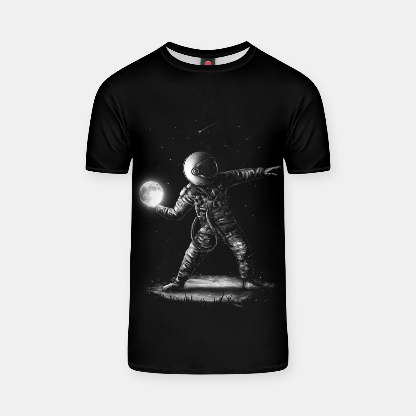 Image of Moonlotov T-shirt - Live Heroes