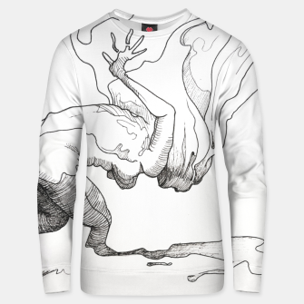 Thumbnail image of Fear of falling Unisex sweater, Live Heroes