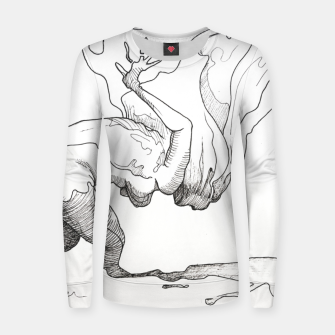 Thumbnail image of Fear of falling Women sweater, Live Heroes