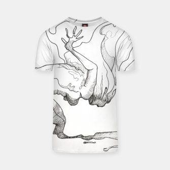 Thumbnail image of Fear of falling T-shirt, Live Heroes
