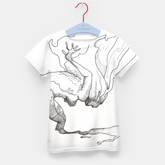 Thumbnail image of Fear of falling Kid's t-shirt, Live Heroes