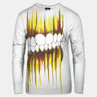 Thumbnail image of Teeth Unisex sweater, Live Heroes
