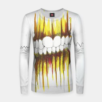 Thumbnail image of Teeth Women sweater, Live Heroes