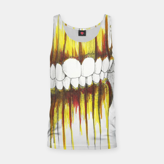Thumbnail image of Teeth Tank Top, Live Heroes