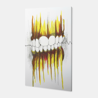 Thumbnail image of Teeth Canvas, Live Heroes