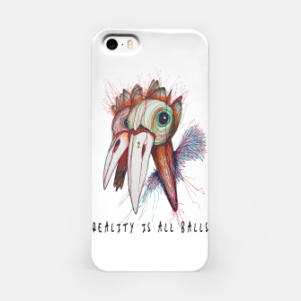 Miniatur Reality is all balls iPhone Case, Live Heroes