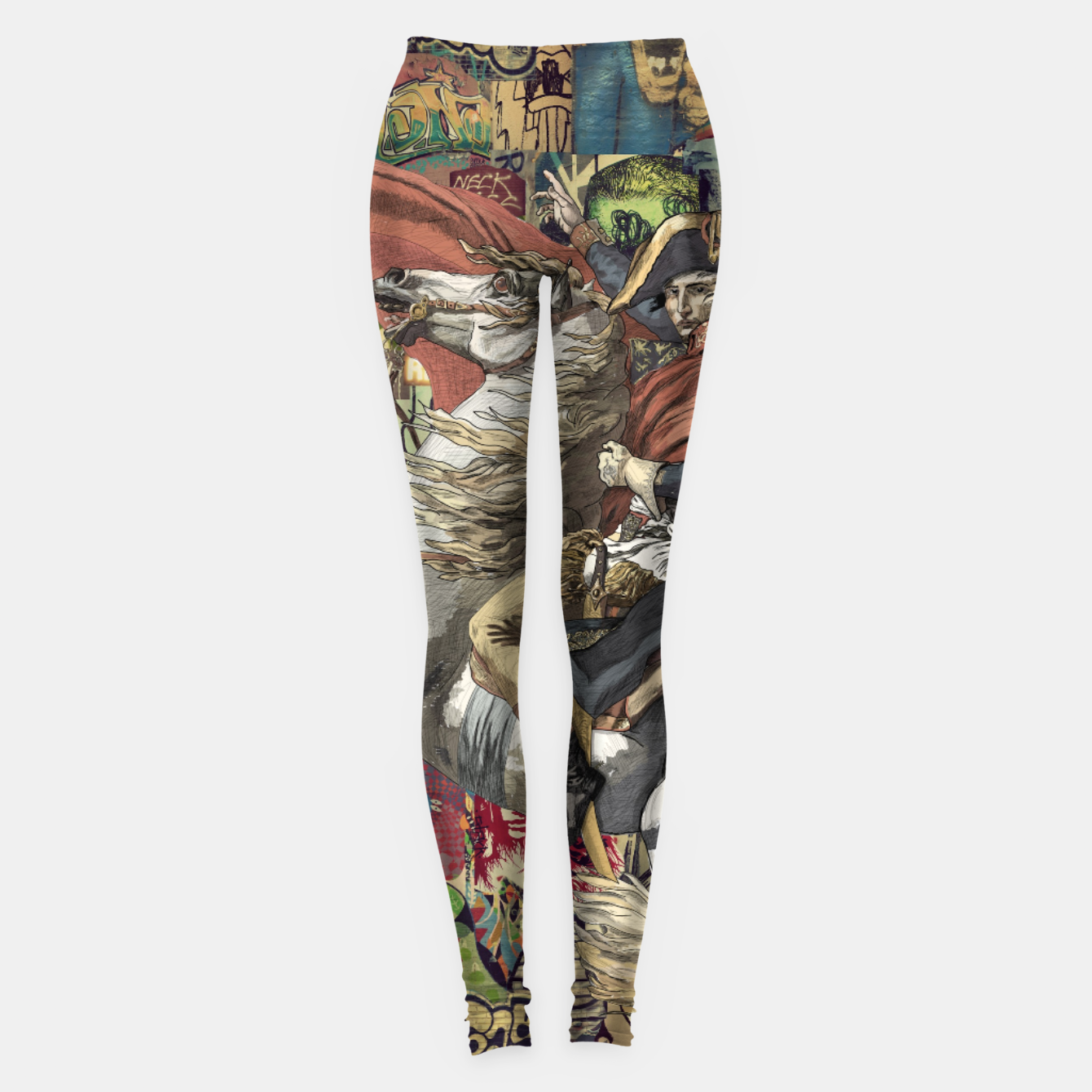 Image of Laser Guided Democracy Leggings - Live Heroes