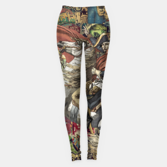 Laser Guided Democracy Leggings Bild der Miniatur